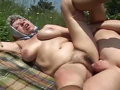 Granny country bbw