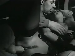 Black and White French Porn