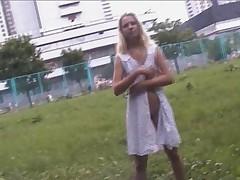 Nude in public 4