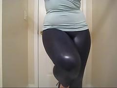 Sexy leg tease