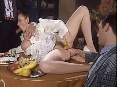 Dinner Table Pornucopia