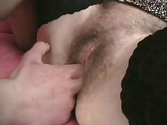 Strap on fucked by Granny