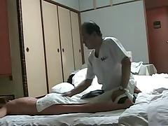 Naughty Japanese Wife Needs Massage