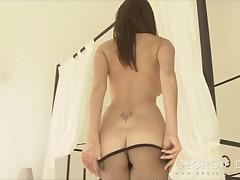 British Georgie Darby Stripping