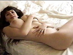 Young Brunette with Huge Naturals