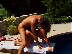 Leanna Heart fucked on diving board