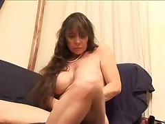Hairy French Anal Mom