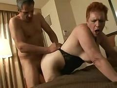 Redhead granny
