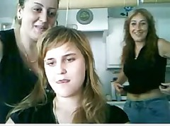 Webcam Spanish 20yo explicit angel of mercy mum uniformly knockers