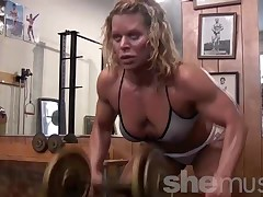 Sexy Mature Gym Rat