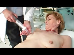 Nice Nipples Luscious Labia Mature Milf at Doctors