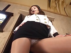 UPSKIRT TEASERS - THE SEXY USHER