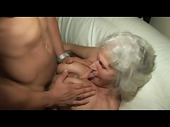 Granny Norma Gets Sweaty