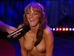 Charlie Laine Sybian Ride on Howard Stern