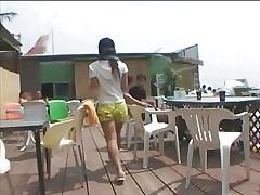 Beachclub Waitress fucked 1