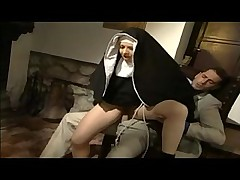 Nun makes him horny