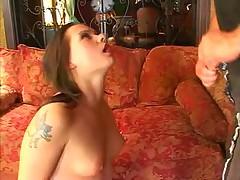 Katja Kassin hardcore anal and swallow.