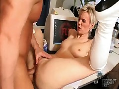 German Melou Rouge nice ass pounding