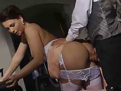 ITALIAN FFM - Erika, Jessica and big cock