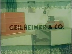 Vintage 70s german - Geilheimer and Co - cc79