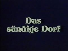 Vintage 70s german - Das suendige Dorf - cc79