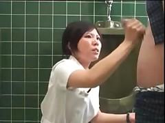 Japan nurse handjob