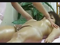 Asian Massage Parlor Doing Some Foreplay