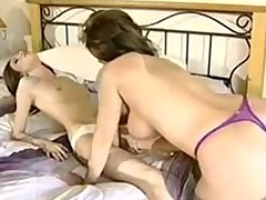 MILF seduces her daughter's side