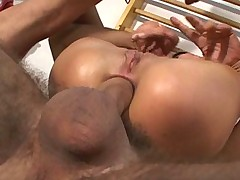 Angela winters - Double Anal & Creampies