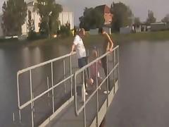 Auf dem bootssteg gefickt (german)