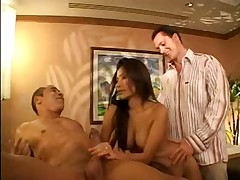 Asian Massage Turns Into Hot Sex (3some)