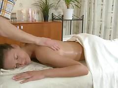 Galina gets a fucking hot massage
