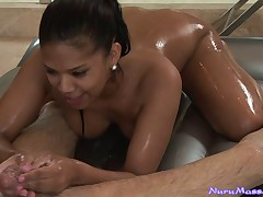 Crazy masseuse goes wild with her client