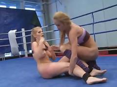Lesbian Nude Fight Club 2