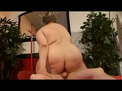 Plump BBW German Madam