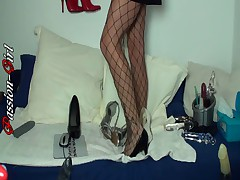 Eine Nacht in meiner WebCam 2 - Passion-Girl German Amateur