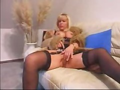 German Mature Enjoying Hard Cock