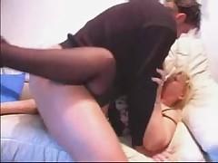 German Mature Enjoying Hard Cock