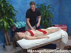 Teen Whore Seduced on Massage Table