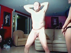 Cock beating 1