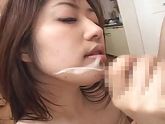 Gung-ho Japanese Wives Massaged and then Fucked at Home 3 - CM