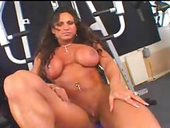 Bodybuilder Big Clit Pussy by TROC
