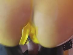 Yellow gagged