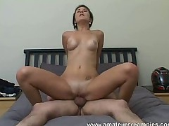 Missy Daniels Creampied Her Hot Pussy