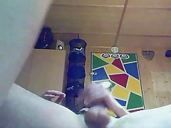 German Amateurgirl in front of Webcam