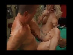 Blonde German Tattoo Chick with Pierced Shaved Pussy