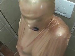 (ballin)-bag in gag blowjob fetish
