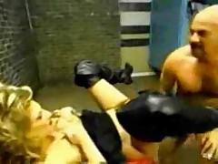 Wild slut with huge pussy hole