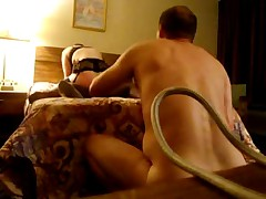 Hubby gets tired of waiting (cuckold)