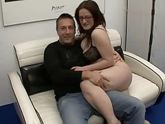 MILF And Her Hubby Casting German Couple